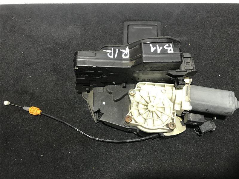 Замок двери Bmw 7-Series E65 N62B48B 2006 задний правый