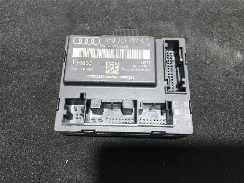Блок управления двери Audi A6 C6 BDW 2005 передний левый