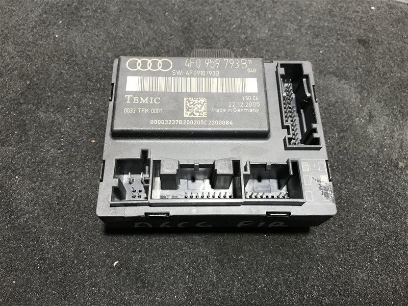 Блок управления двери Audi A6 C6 BDW 2005 передний правый