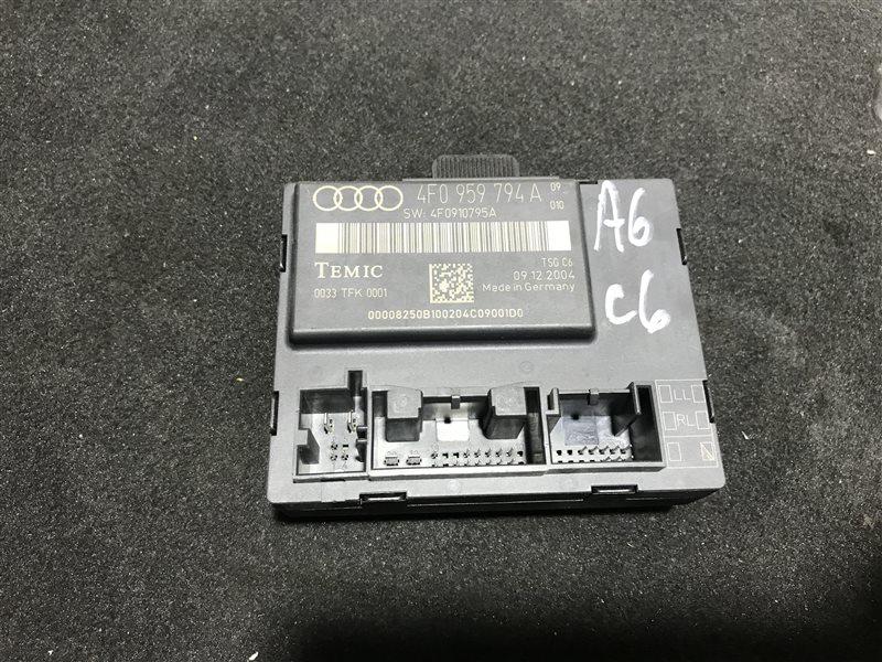 Блок управления двери Audi A6 C6 BDW 2005 задний правый