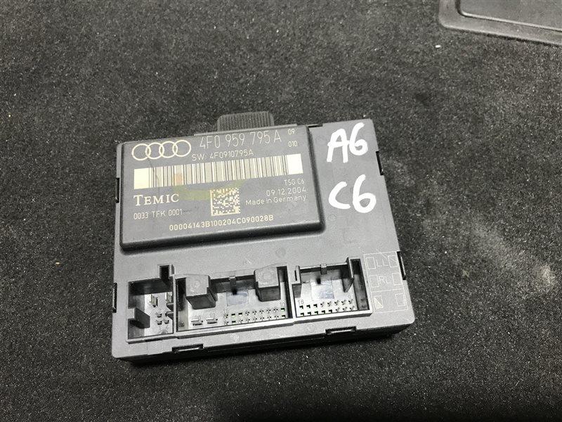 Блок управления двери Audi A6 C6 BDW 2005 задний левый