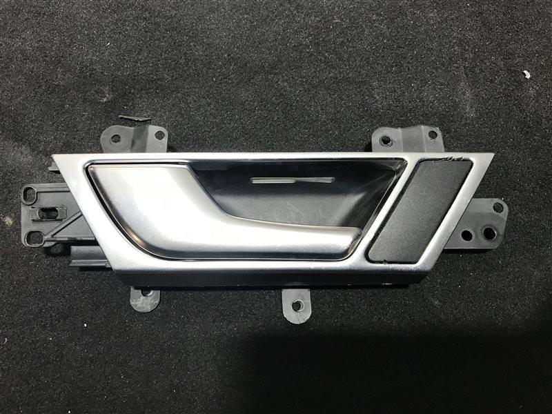 Ручка двери внутренняя Audi A6 C6 BDW 2005 задняя левая