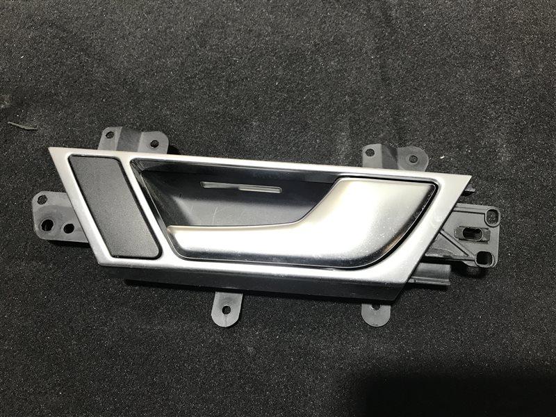Ручка двери внутренняя Audi A6 C6 BDW 2005 задняя правая