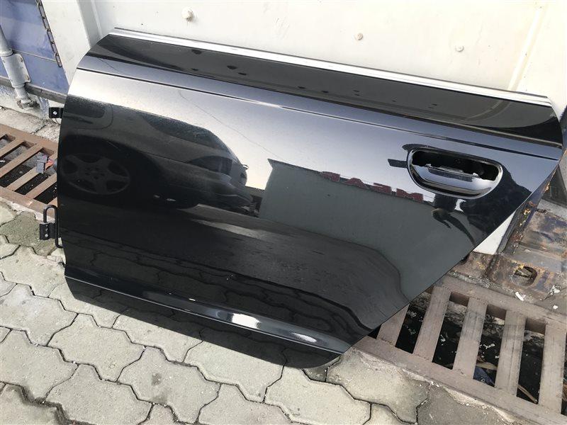 Дверь Audi A6 C6 BDW 2005 задняя левая