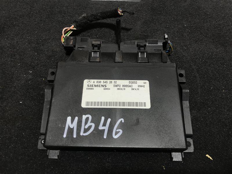 Блок управления акпп Mercedes-Benz M-Class W163 W163 612.963 2002