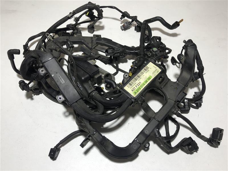 Проводка двигателя Mercedes-Benz S-Class W221 W221 272.965 2006