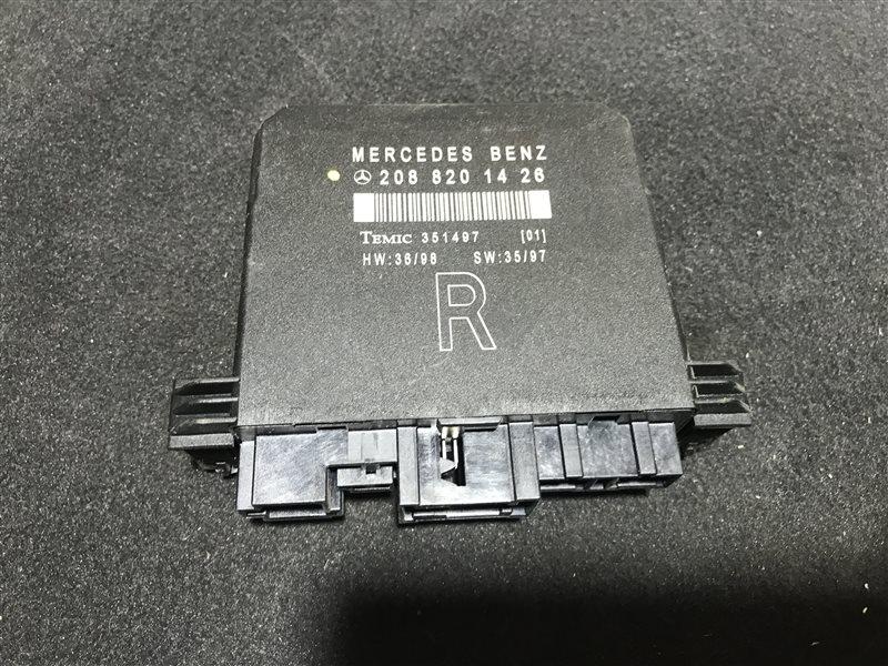 Блок управления двери Mercedes-Benz E-Class W210 W210 112.941 1999 передний правый