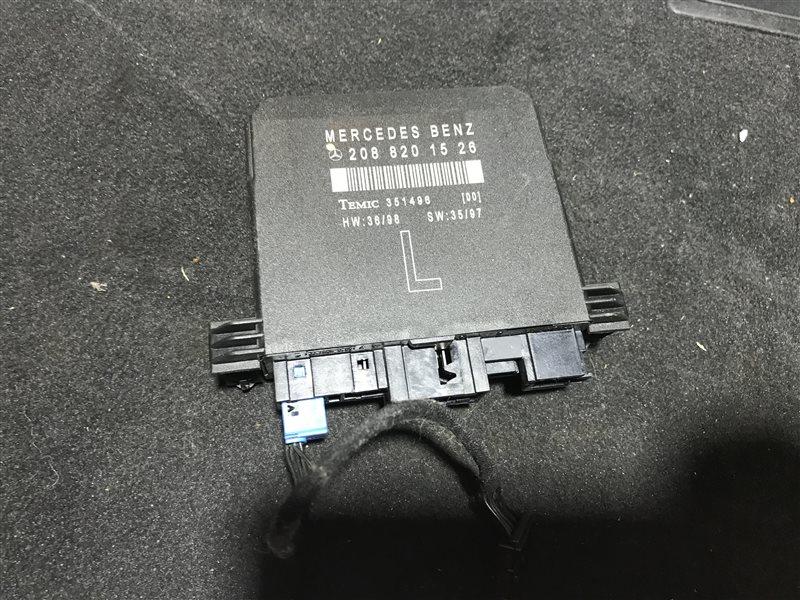 Блок управления двери Mercedes-Benz E-Class W210 W210 112.941 1999 передний левый