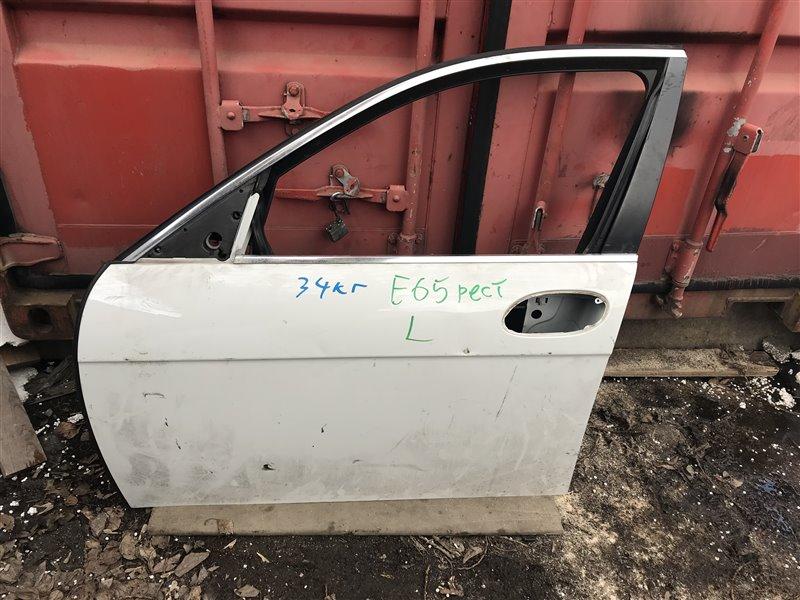 Дверь Bmw 7-Series E65 N62B40A 2007 передняя левая