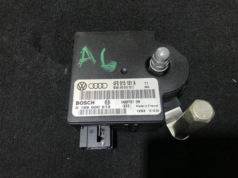 Блок управления зарядом акб Audi A6 C6 BDW 2005