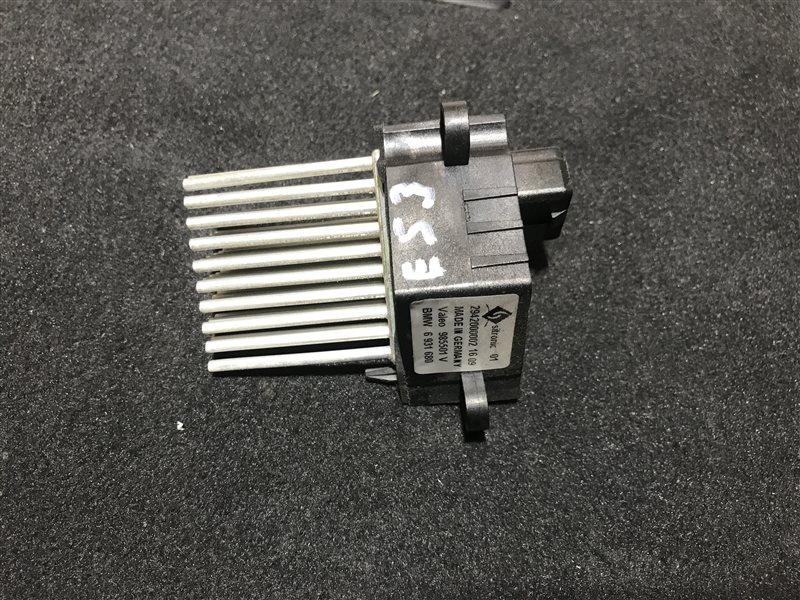 Регулятор вентилятора печки Bmw X5 E53 M54B30 2006