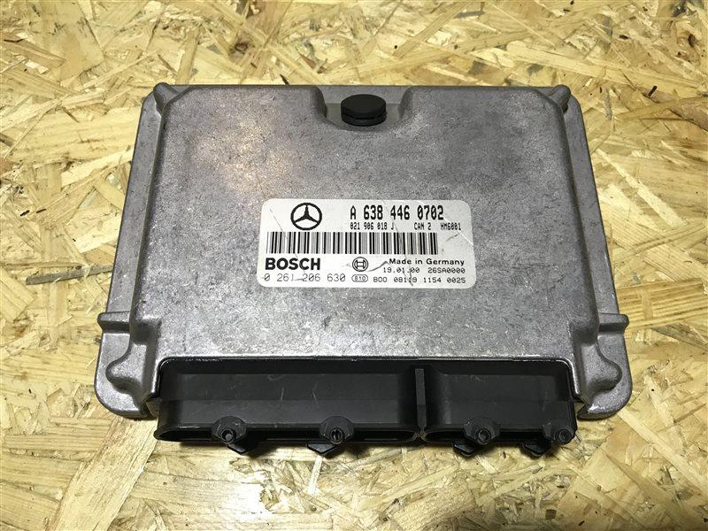 Блок управления двс Mercedes-Benz V-Class W638 W638 M104 2000