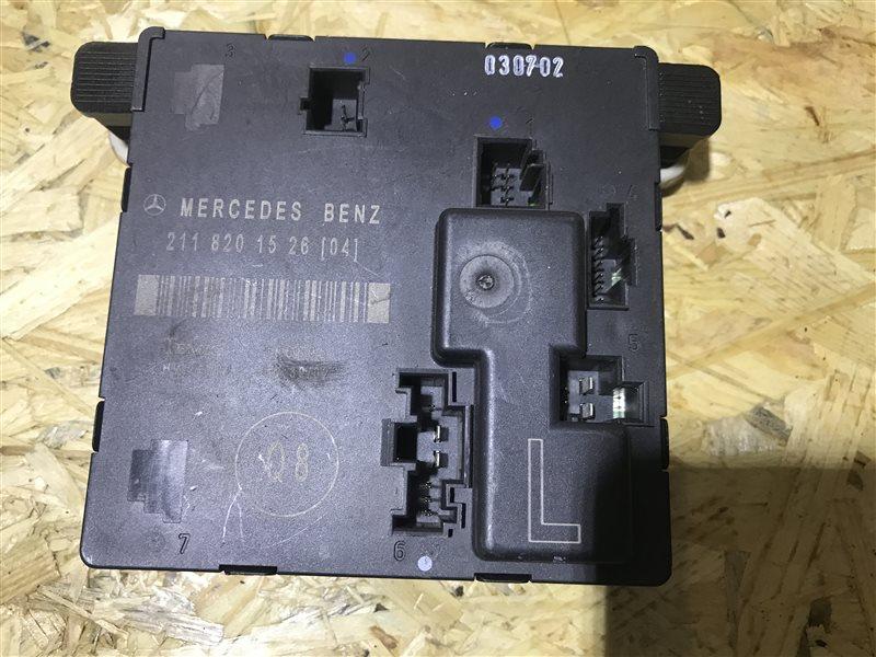 Блок управления двери Mercedes-Benz E-Class W211 W211 M112 2003 задний левый