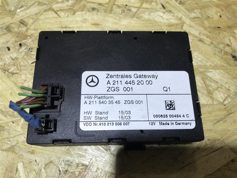 Блок управления Mercedes-Benz E-Class W211 W211 2003
