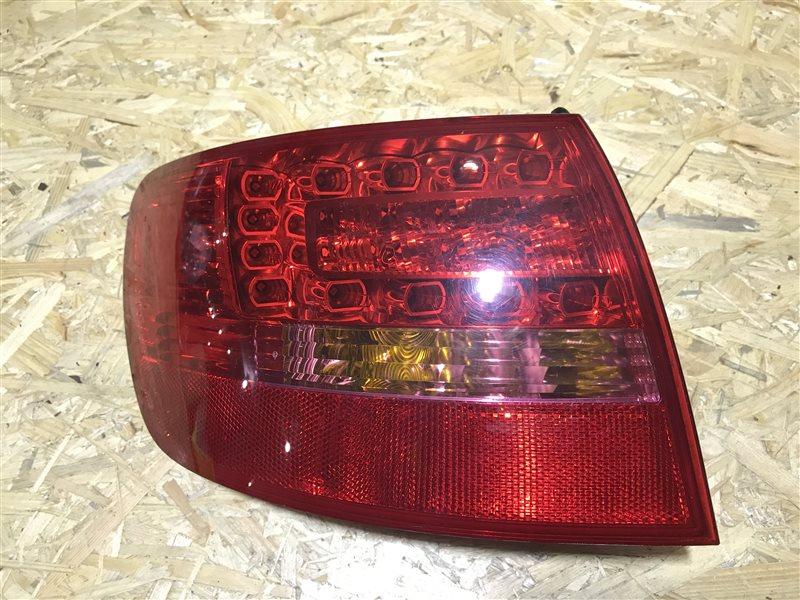 Стоп-сигнал Audi A6 C6 AUK 2005 левый