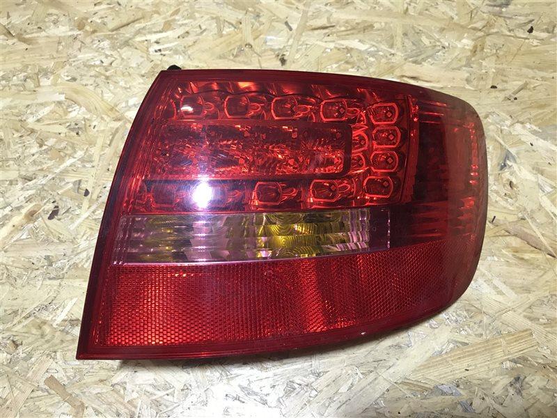 Стоп-сигнал Audi A6 C6 AUK 2005 правый