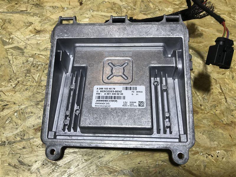 Блок управления двс Mercedes-Benz A-Class W169 W169 266.940 2005