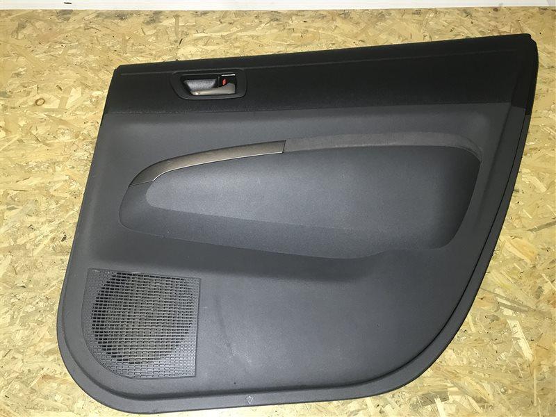 Обшивка двери Toyota Prius NHW20 1NZ-FXE 2004 задняя правая