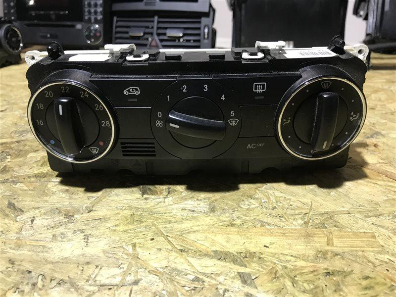 Блок управления климат-контролем Mercedes-Benz A-Class W169 W169 266.940 2005