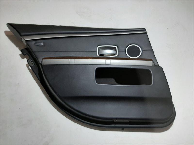 Обшивка двери Bmw 7-Series E65 задняя левая