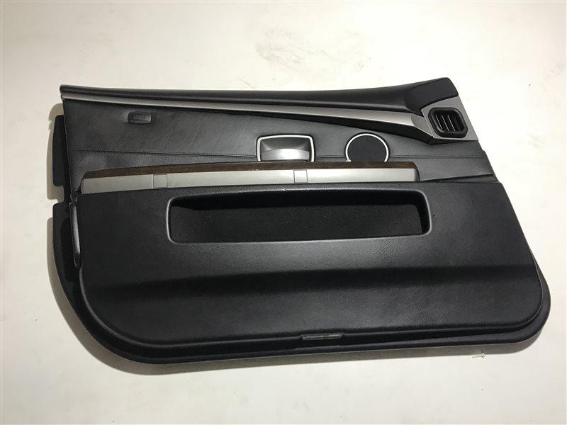 Обшивка двери Bmw 7-Series E65 передняя левая