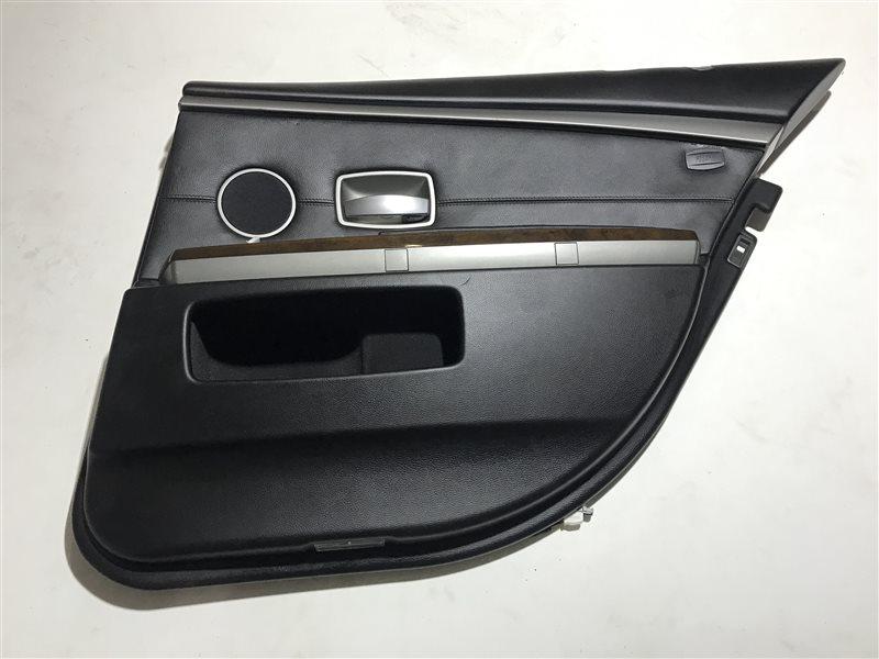 Обшивка двери Bmw 7-Series E65 задняя правая