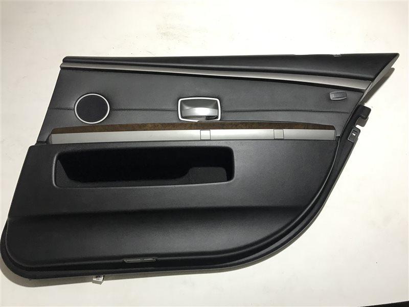 Обшивка двери Bmw 7-Series E66 задняя правая