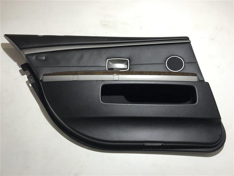 Обшивка двери Bmw 7-Series E66 задняя левая