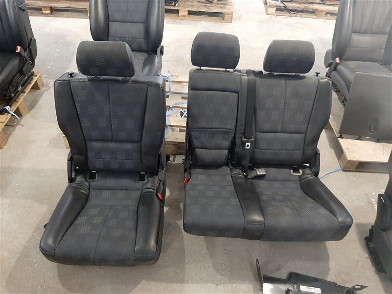 Комплект сидений Mercedes-Benz M-Class W163 W163 612.963 2002 задний