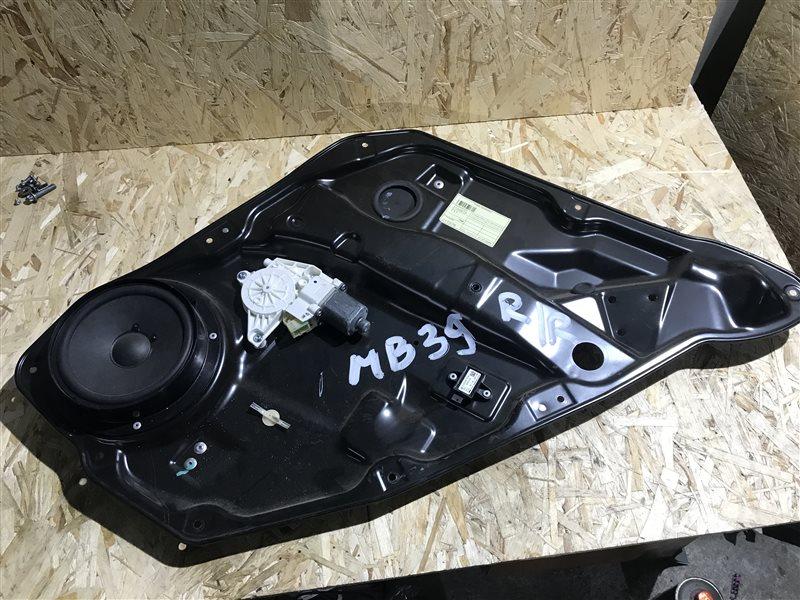 Стеклоподъемник Mercedes-Benz M-Class W164 W164 272.967 2006 задний правый
