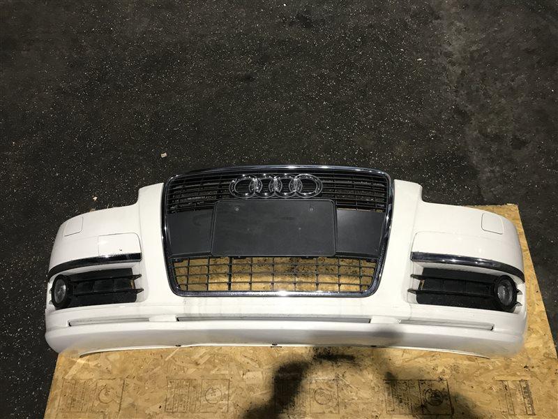 Бампер Audi A6 C6 AUK 2006 передний