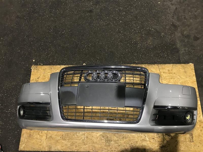 Бампер Audi A6 C6 BDW 2006 передний