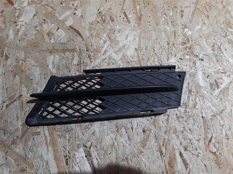 Решетка в бампер Bmw 3-Series E90 N46B20 2005 передняя левая