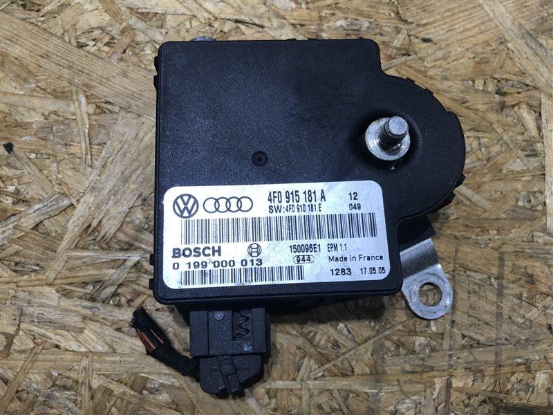 Блок управления зарядом акб Audi A6 C6 AUK 2006
