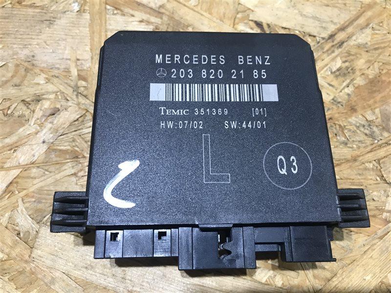 Блок управления двери Mercedes-Benz C-Class W203 W203 272.920 2007 задний левый