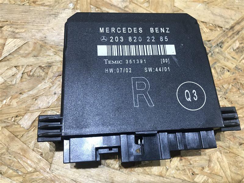 Блок управления двери Mercedes-Benz C-Class W203 W203 272.920 2007 задний правый