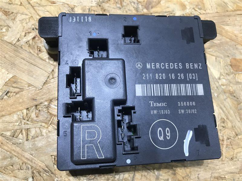 Блок управления двери Mercedes-Benz E-Class W211 W211 112.949 2002 задний правый