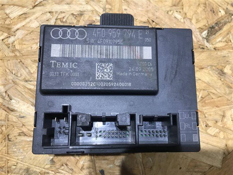 Блок управления двери Audi A6 C6 AUK 2006 задний правый