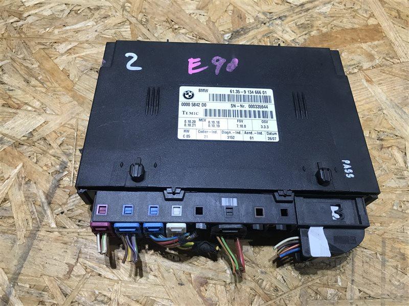 Блок управления сиденьем Bmw 3-Series E90 N52B25A 2006 передний