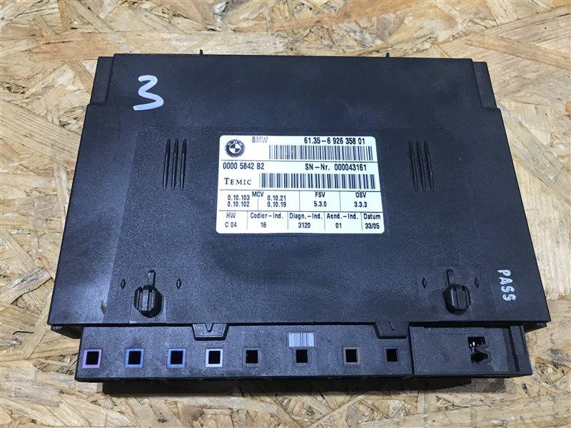 Блок управления сиденьем Bmw X5 E53 M54B30 2005 передний