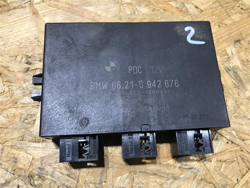 Блок управления парктроником Bmw X5 E53 M54B30 2004