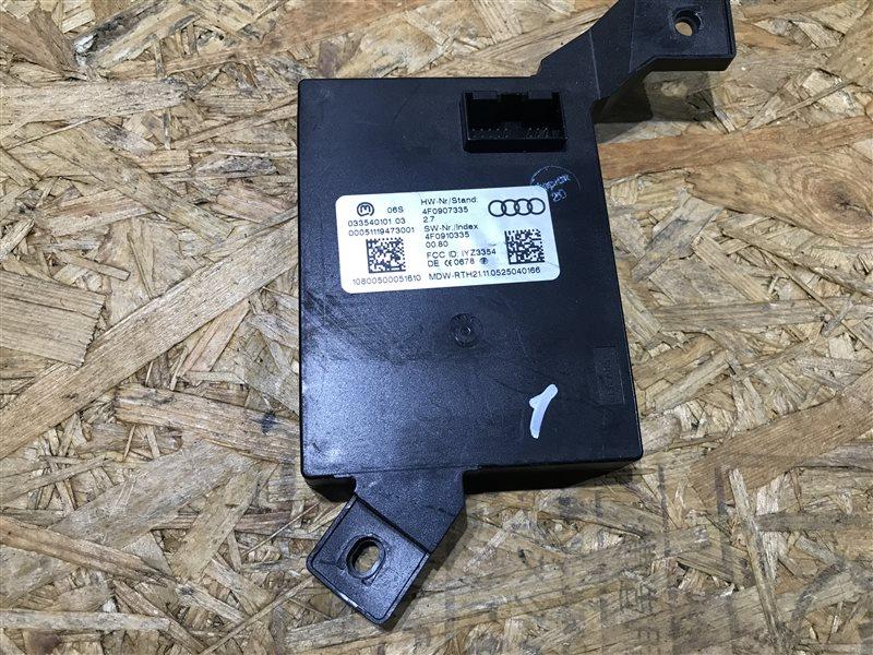 Блок бесключевого доступа Audi A6 C6 AUK 2006
