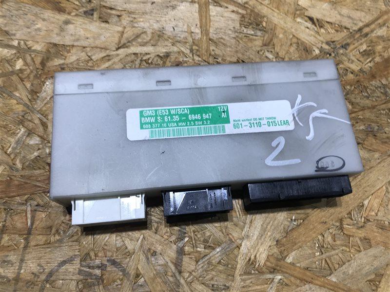 Блок комфорта Bmw X5 E53 M54B30 2005