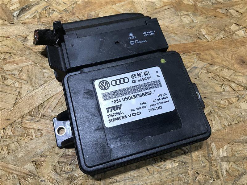 Блок управления стояночный тормозом Audi A6 C6 AUK 2006
