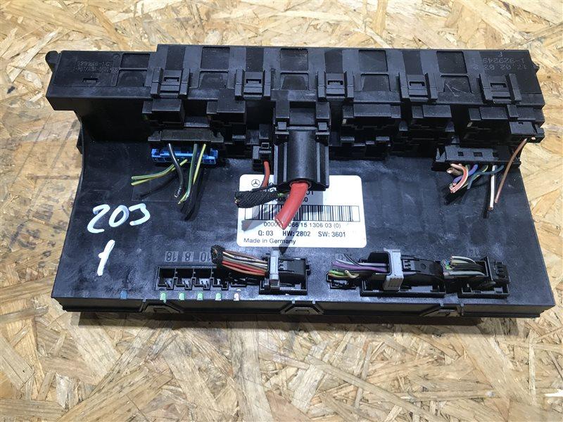 Блок sam Mercedes-Benz C-Class W203 W203 112.916 2003 задний