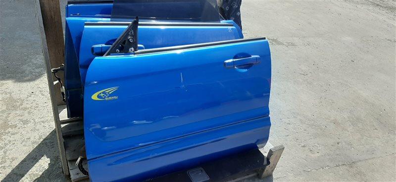 Дверь Subaru Forester SG5 EJ205 (2.0L EMPI DOHC TURBO) 2004 передняя левая