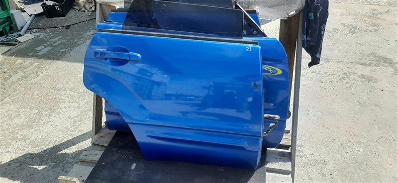 Дверь Subaru Forester SG5 EJ205 (2.0L EMPI DOHC TURBO) 2004 задняя правая