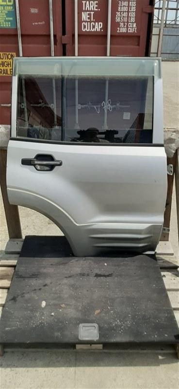 Дверь Mitsubishi Pajero V78W 4M41 1999 задняя правая