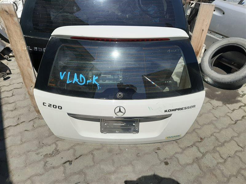 Дверь багажника Mercedes-Benz C-Class W204 W204 271.950 2008