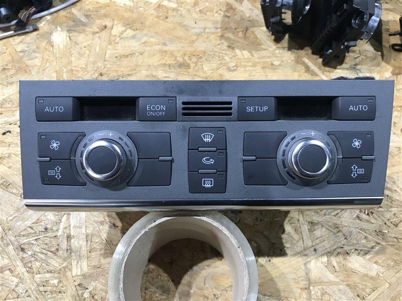 Блок управления климат-контролем Audi A6 C6 BDW 2005